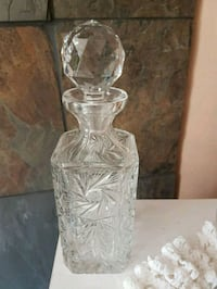 Gorgeous Austrian crystal decanter set.  Whitby, L1N 8X2