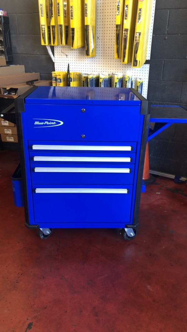 Blue Point Tool Cart >> Used Blue Point Tool Box Roll Cart Barely Used For Sale In Pineville