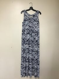 Women's Margaritaville black/blue/white maxi dress… Size medium Manasquan, 08736