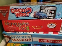 Kids Board Games Lot Deale