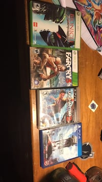 Xbox360,PS3,and PS4 games 940 mi