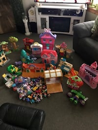 Large Children's Toy Lot
