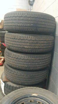 four black rubber car tires Vaughan, L4L 2C5