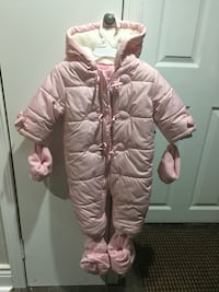 Baby girl Winter snowsuit and jackets  Toronto, M8V 3K4
