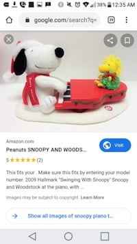 Snoopy's Piano Toy