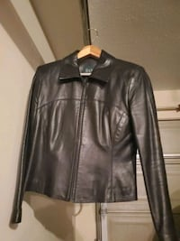 Vintage Danier black leather jacket