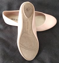 Size 7 ½ - Lower East Side(Payless)Light Pink Round Toe Flats