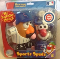 ages 2+ Mr. Potato Head Cubs Sports Spuds box Streamwood, 60107