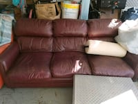 Leather couch Jacksonville, 28540