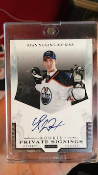 Ryan Nugent-Hopkins Rookie Private Signing  Richmond Hill, L4E 3T1