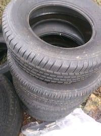 Used tires for spare