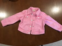 Pink jean jacket size 24 mths  Middlesex Centre, N0M 2A0
