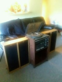 black and gray home theater system Hyattsville, 20781