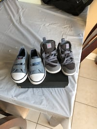 5c girls Jordan and polo shoes