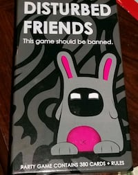 Disturbed friends adult party game Glenn Dale, 20769