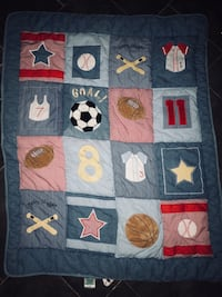 Sports baby blanket  Waterford, 06385