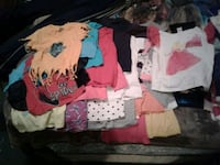 20 miscellaneous girl child shirts Kitchener, N2E 3L1