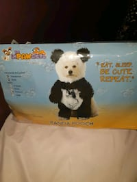 Panda Pooch Medium Dog Costume Toronto, M3A 2W6