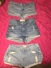 SIZE 7 BRAND NAME JEAN SHORTS 3 for 15$!! Winnipeg, R2X 0X8