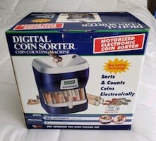 Digital Coin Sorter & Counting