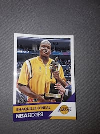 Shaquille O'Neal  basketball cards Calgary
