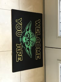 Star Wars welcome mat brand new $25 Oakville, L6H 0C9