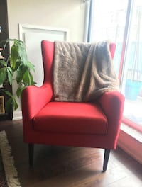 Whimsical Red Arm Chair Toronto, M4X 1L1