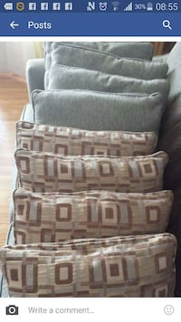 grey throw pillow Windsor, N8W 2L2