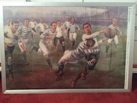 Framed Rugby poster Alexandria, 22312