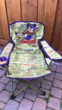 Kids outdoor chair with cover Brampton