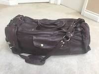 Beautiful real leather carry on bags with lots of compartments in excellent condition for $65 each Vancouver, V5W 2N5