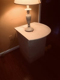 """2 side marble tables base is 12""""x12x24"""" high Fairfax Station, 22039"""