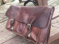 Briefcase leather about 7 years old