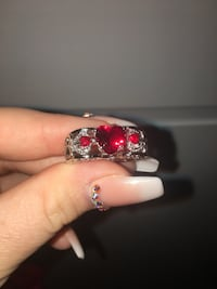 New red ruby in 925 sterling silver ring  San Antonio, 78227