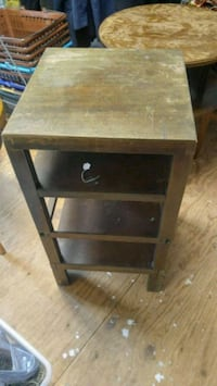 Vintage wooden table Central City, 52214