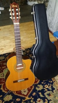 brown classical guitar with case Germantown, 20874