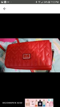 red leather Michael Kors wristlet Ajax, L1T 3K4
