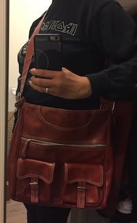 Burnt orange over the shoulder Purse  Toronto, M6H 0C4