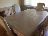 Dining room table and 4 chairs East Hanover, 07936