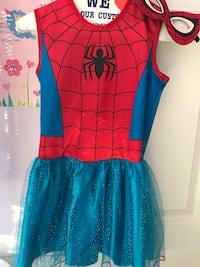 Spider girl size 5 costume  Ashburn