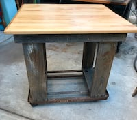 Rustic kitchen island Santa Barbara, 93103