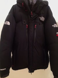 Svart north face zip-up jakke Oslo, 0984