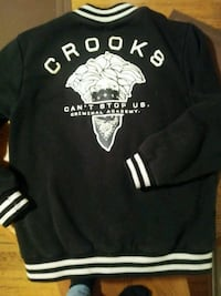 Crooks and castles jacket mens medium