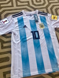 2018 World Cup Argentina jersey #10 MESSI Frisco, 75034