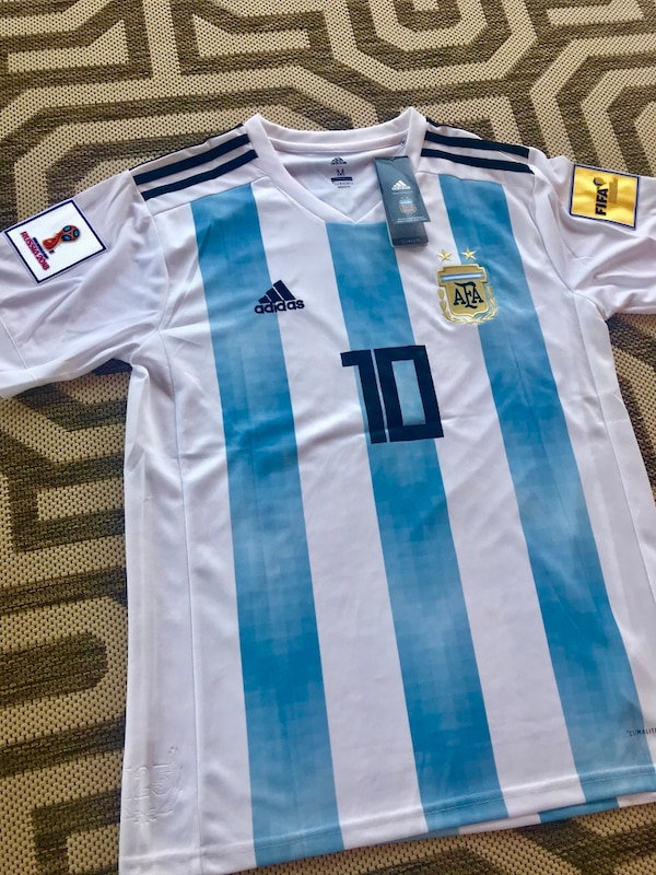 pretty nice f7abe 43026 2018 World Cup Argentina jersey #10 MESSI