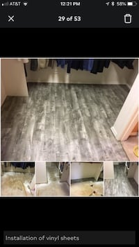 Contracting - professional flooring installation