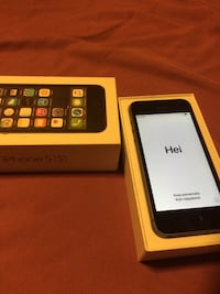 Black iPhone 5s 16gb 10/10 condition 3127 km