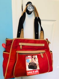 Skip Hop grand central diaper bag, new with tags