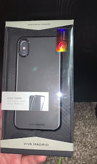 iPhone X flexi curve case