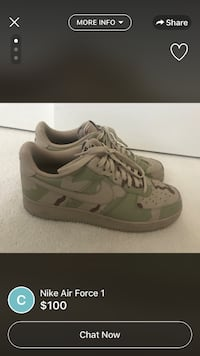 pair of gray Nike running shoes Hamilton, L8H 3Y9